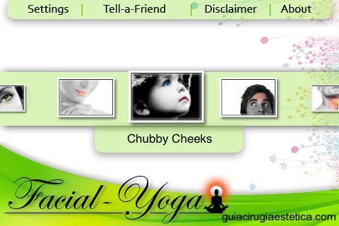 Aplicación móvil de ejercicios faciales de Yoga