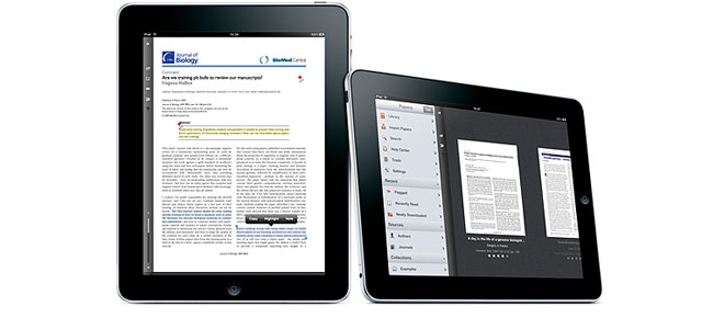 Papers - Aplicacion Médica de investigación y documentación para iPad y iPhone