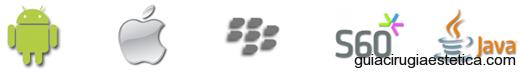 Android, Blackberry, iPhone, J2ME (beta) y Symbian S60 (beta).