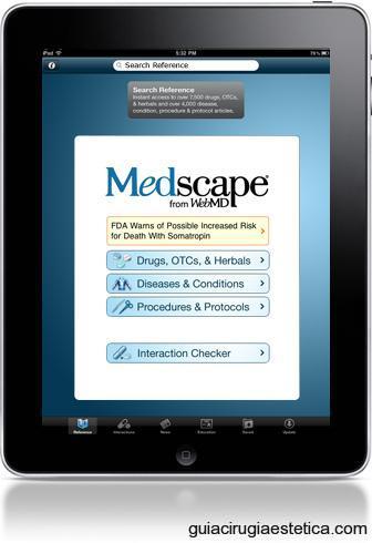 Aplicaciones Médicas para iPad - Medscape