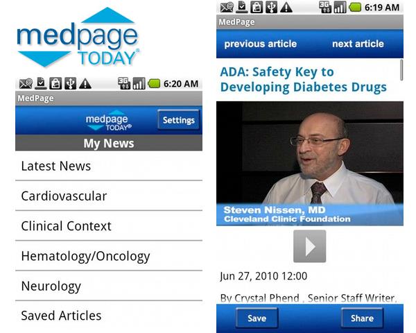 MedPage - Noticias médicas por especialidades
