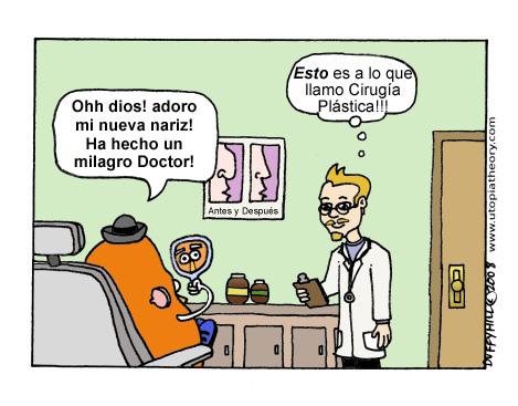 El Señor Patata va al Cirujano Plástico