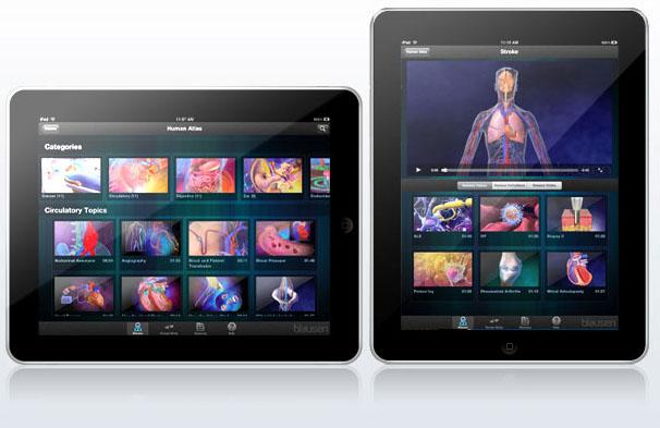 ipad-blausen-human-atlas-aplicacion-medica