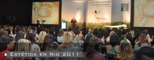 Estética in Rio 2011 - 5o. Congreso Brasilero de Estética.
