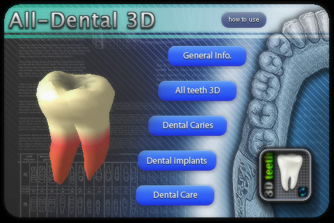 3D Teeth: aplicación médica dental