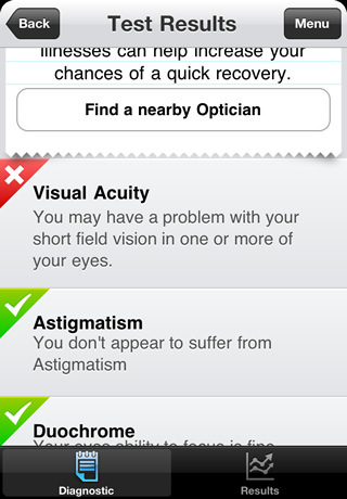 Vision Test: