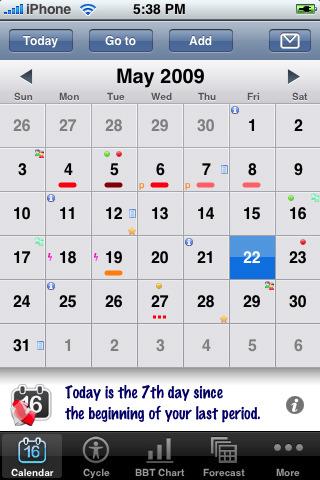 App Woman Calendar: