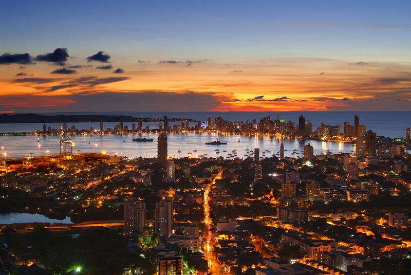 Cartagena, Colombia es una ciudad que mezcla modernidad con su pasado colonial.