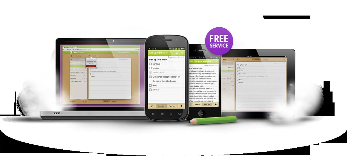 Mobislenotes para Android - Escribir y tomar notras en Android