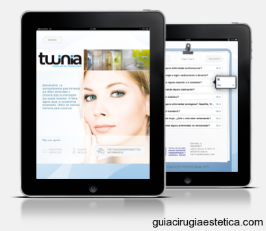 Aplicación Médica iPad - Twinia