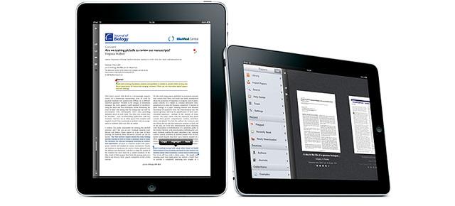 Papers - Aplicacion Médica de investigación y documentación para iPad y iPhone