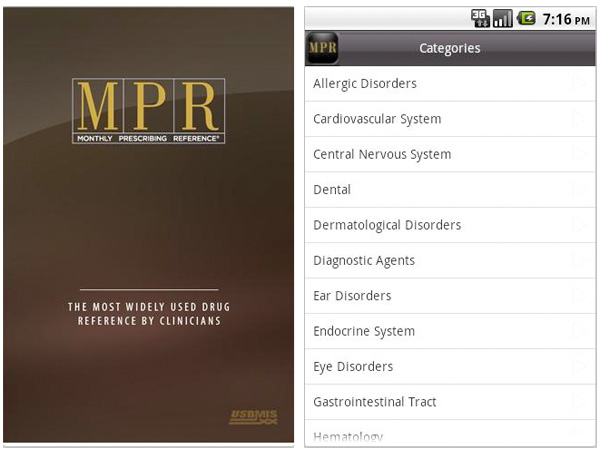 MPR Aplicación Médica Android