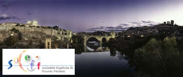 Imagen de Toledo con el logo del congreso de Fisura Labiopalatina