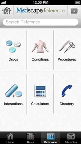 Medscape aplicación médica